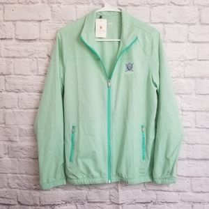 Adidas The Golf Club At Lansdowne Windbreaker